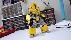 cherno yellow wip02-01 (chubbybots) Tags: lego nexoknights cherno alpha mech