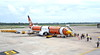 Cartoon flight (billywhiz07) Tags: holiday flight airplane airport ruinway nokair thailand udon thani commercialairline