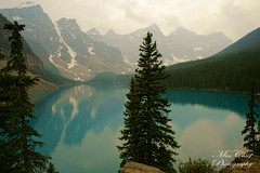 DSC02337 (♥ MissChief Photography ♥) Tags: alberta canada water river trees mountain nature outdoors lakemoraine
