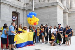 2017 Colombia Flag Raising-043 (Philly_CityRep) Tags: cityofphiladelphia colombia flag raising