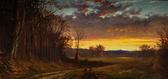 Alfred Bricher - Twilight in the Wilderness, 1865 at Saint Louis Art Museum - St Louis MO (mbell1975) Tags: stlouis missouri unitedstates us alfred bricher twilight wilderness 1865 saint louis art museum st mo saintlouis stl slam museo musée musee muzeum museu musum müze museet finearts fine arts gallery gallerie beauxarts beaux galleria painting american realist landscape paysage