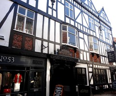 [52719] Derby : Old Bell (Budby) Tags: derby derbyshire publichouse pub timbered