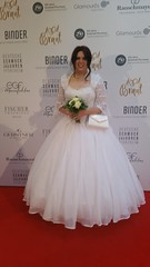 July 2017 - Pforzheim, Night of 1000 brides event (cilii_77) Tags: crossdresser crossdressing cd tv tg transgender transvestite bride elegant dress gown makeup sissy pearls veil wedding hoopskirt satin lace