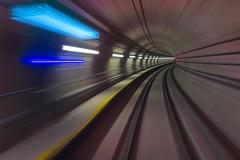 """""""KELUAR"""" (Hafidz Abdul Kadir) Tags: mrt malaysia kualalumpur cityscape tunnel train"""