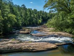Rocks, Rills, & Reflections (TuthFaree) Tags: elements landscape rocks nature water whitewater trees sc tamasseedarschool 7dwf