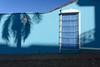 Trinidad, Cuba - Street Life (GlobeTrotter 2000) Tags: tree blue carribean cuba door old palm shadow steet sunrise tourism town travel trinidad visit window
