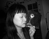 B&W (Arnar Steinthorsson) Tags: bw blackandwhite bn blackwhite monochrome noir negro canons90 copenhagen arnar steinthorsson street smallsensor portrait people persons everyday emotions grain contrast cph denmark