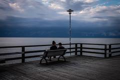 Auf der Seebrücke.... (matthias-fotografien) Tags: usedom ahlbeck seebrücke wasser ostsee baltic sea