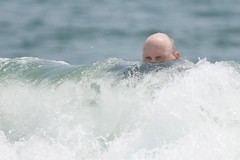 Kilroy in the Water (secondtree) Tags: beach oceangrove jerseyshore