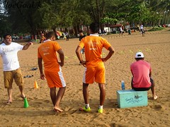 Sunil's fitness (joegoauk73) Tags: joegoauk goa miramar