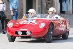 Mille Miglia, Gubbio 2017 (MikePScott) Tags: camera car events gubbio italia italy mt414502ad millemiglia nikon28300mmf3556 nikond600 osca transport umbria