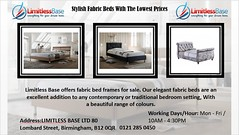 Stylish Fabric Beds With The Lowest Prices (LimitlessBase) Tags: fabric bed frames