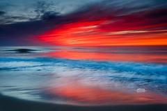 Sorbet Sunrise (Dapixara) Tags: beach oceansunrise swells ocean nature sunrise sorbet capecodnationalseashore photography capecod massachusetts usa
