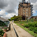Moestuin en de oude watertoren