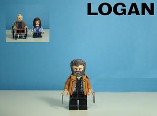 Custom Lego Logan