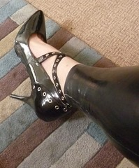 shooooes <3 (charlotteyorkscd) Tags: shoes heels highheels pumps straps strappy