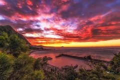 水湳 (Wi 視覺) Tags: taiwan taipei keelung sky skyline sea sun sunset sunny 基隆 c型彎 水湳