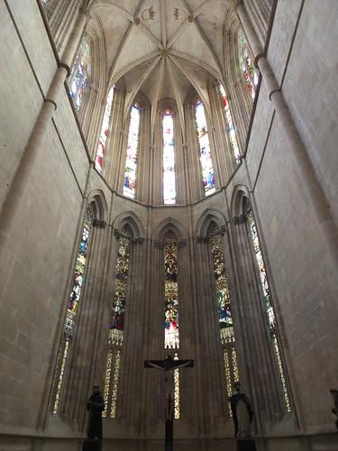 Monasterio de Santa Maria da Vitória - Cabecera de la iglesia