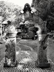 GO THRU, HAVE A WISH #arch #gate #wish #shadow #light #Wildpark #Schweinfurt #schwarzweiß #blackandwhite #Photographie #photography (benicturesblackwhite) Tags: blackandwhite light gate shadow wildpark photography arch wish schwarzweis schweinfurt photographie
