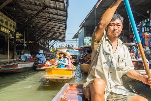 marche fottant damnoen saduak - thailande 33
