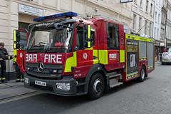 WX66 JVA (Emergency_Vehicles) Tags: wx66jva london fire brigade dpl 159 dual purpose ladder dowgate