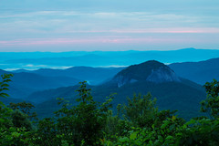 Sunrise over Looking Glass Rock (joehoeper) Tags: avl westernnorthcarolina nationalforest appalachianmountains pisgahnationalforest brevard northcarolina 828 naturephotography blueridgemountains blueridgeparkway