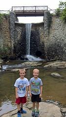 Asheville (heytampa) Tags: asheville biltmore biltmoreestate waterfall bridge conner paxton hey