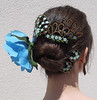 Carey (El Gato sobre el Tejado) Tags: carey handmade hechoamano peineta pendientes haircomb earrings