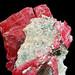 rhodonite, pyrite, quartz