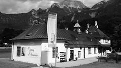 Der alte Bahnhof am Königssee (Uwe Wieteck) Tags: königssee bahnhof acros sooc