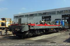 IMG_9998 (di Stefano ©Praz Paolini) Tags: db 225 ipe nogarole rocca t lok cantiere diesel loco