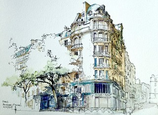 PARIS Bd St. Michel / rue Vaugirard