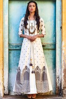 Printed aand embroidered salwars