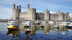 Caernarfon Castle (www.alexharbige.co.uk) Tags: wales quay menai strait anglesey