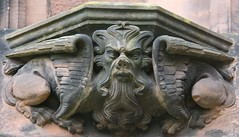 Chester Cathedral (richardr) Tags: chester cathedral church cheshire chestercathedral gargoyle north northengland northernengland england english britain british greatbritain uk unitedkingdom europe european history heritage historic old