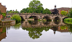 English Bridge Shrewsbury (Gerry Hat Trick) Tags: shropshire shrewsbury castle bridge english welsh river severn midlands boat trip ride