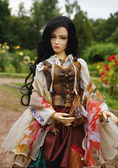 Kiara2 (Ermilena Puppeteer) Tags: soom soomdiagirl gipsy handmadeforbjd handmade bjd abjd