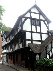 [52671] Coventry : Lychgate Cottages (Budby) Tags: coventry westmidlands timbered