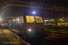 92023, ready to roll (Cosmo's Train & Gig Photos) Tags: brush class92 gbrf caledoniansleeper wcml eus london euston londoneuston westcoastmainline 92023 longexposure dyson gbrailfreight