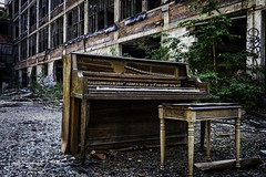 Let Me Play You a Love Song (Laura Simonsen Braun) Tags: detroit packard ruins blight grit