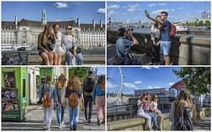 young people in London ... (miriam ulivi) Tags: miriamulivi nikond7200 england london streetscene collage people streetphotography colorful