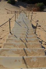 Dune du Pilat (hervétherry) Tags: france aquitaine gironde pilat dunedupilat canon eos 7d efs 18200 arcachon bassin landes 111m sable escalier marche pylasurmer