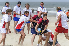 H6G64154 Ameland Invites v Baba Bandits (KevinScott.Org) Tags: kevinscottorg kevinscott rugby rc rfc beachrugby ameland abrf17 2017 vets veterans netherlands