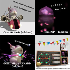 -OHAMU roulette gacha-@Hamster Festival 2017 (xLUNAx Pienaar) Tags: secondlife whowhat who what hamster festival 2017