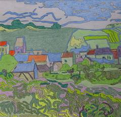Vue d'Auvers-sur-oise - Van Gogh - 1890_0 (Luc II) Tags: vangogh auverssuroise
