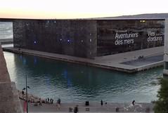Le Mucem @ sunset (Hélène_D) Tags: hélèned france provencealpescôtedazur provence paca bouchesdurhône marseille vieuxport mucem muséedescivilisationsdeleuropeetdelaméditerranée musée museum merméditerranée mediterraneansea méditerranée mer sea