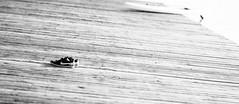 Missed or gone (Traveller_40) Tags: anlegestelle bw blackwhite blackandwhite holz monochrome nb noirblanc noiretblanc oberschleisheim regattastrecke rowingboat ruderboot schuhe schwarzweis sportschuhe wasser wood biancoenero blancoynegro monocromático pretoebranco sportshoes water 单色 白黒 nike