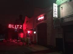 Blitz Venue (jericl cat) Tags: walthamstow london gods own junkyard neon sign art collection heaven blitz venue exterior