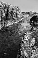 Contrasts in nature (huddart_martin) Tags: blackandwhite blackwhite nature landscape rocks lines water sea norway norge hordaland øygarden vik contrasts contrast monochrome sonya99 sony