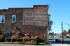 Princeton Illinois, Carriages and Harness Ghost Sign (Cragin Spring) Tags: illinois il midwest unitedstates usa unitedstatesofamerica princeton princetonil princetonillinois sign ghostsign